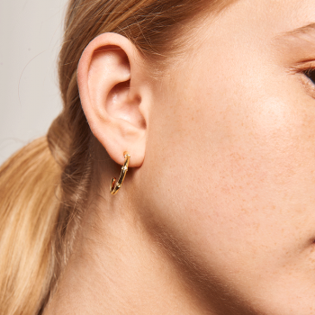 Horizon Gold Earrings