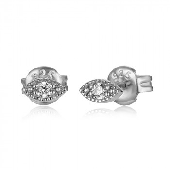 Zirconia Earring - Eye