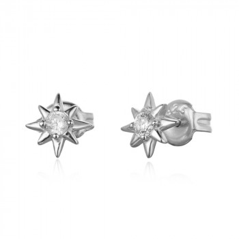 Zircon Earring  - Star