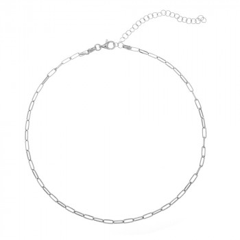 Silver Necklace  - Choker